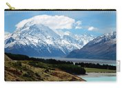 Mt Cook Across Lake Pukaki Carry-all Pouch