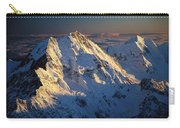 Mt Cook Or Aoraki And Mt Tasman, Aerial Carry-all Pouch