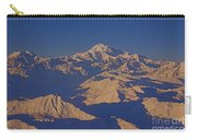 Mt. Mckinley Sunset From Above Carry-all Pouch