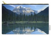 Mt Robson Highest Peak In The Canadian Carry-all Pouch by Tim Fitzharris