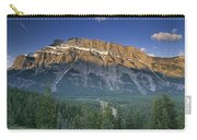 Mt Rundle And The Bow River Carry-all Pouch