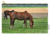 Mucnching Sweet Spring Grass I Photoart Carry-all Pouch