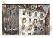 Mulberry Street, Nyc, 1873 Carry-all Pouch