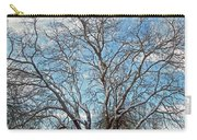 Mulberry Tree In Snow Carry-all Pouch