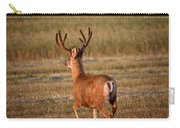 Mule Deer Buck In An Alberta Field Carry-all Pouch