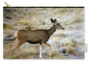 Mule Deer On The Move Carry-all Pouch