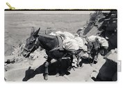 Mule Train Bw Carry-all Pouch