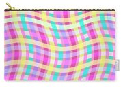 Multi Check Carry-all Pouch by Louisa Knight