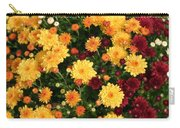Multi Colored Mums Carry-all Pouch
