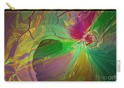 Multi Colored Rainbow Carry-all Pouch by Deborah Benoit
