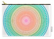 Multicolor Circle Carry-all Pouch