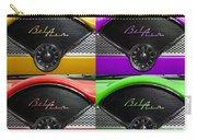 Multicolored Belair Clock Carry-all Pouch