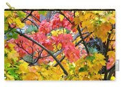 Multicolored Maple Carry-all Pouch