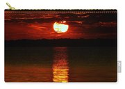 Multiline Sunset Carry-all Pouch