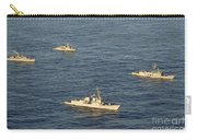 Multinational Navy Ships Move Carry-all Pouch