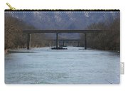 Multiple Bridges Crossing The Holston River Carry-all Pouch