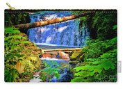Multnomah Falls Oregon Carry-all Pouch