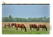 Munching Sweet Spring Grass IIi  Carry-all Pouch