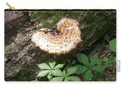 Mushroom Heart Forest Carry-all Pouch