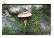 Mushroom In Moss Carry-all Pouch