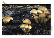 Mushrooms 6 Carry-all Pouch