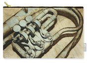 Music Of The Past Carry-all Pouch by Jutta Maria Pusl