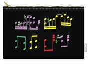 Musical Notes Carry-all Pouch