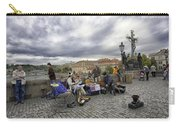 Musicians On The Charles Bridge - Prague Carry-all Pouch