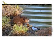 Muskrat Feeding Carry-all Pouch