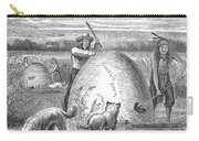 Muskrat Hunting, 1873 Carry-all Pouch