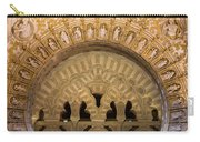 Muslim Arch With Christian Reliefs In Mezquita Carry-all Pouch