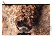 Mustached Mud Bee Carry-all Pouch