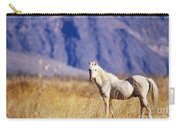 Mustang Carry-all Pouch by Mark Newman and Photo Researchers