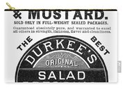 Mustard Ad, 1889 Carry-all Pouch