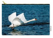 Mute Swan Gaining Momentum Carry-all Pouch