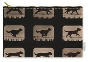 Muybridge Locomotion, Dog Running, 1881 Carry-all Pouch