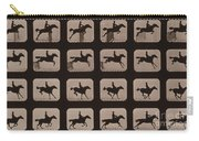 Muybridge Locomotion Horse Leaping Carry-all Pouch
