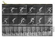 Muybridge Locomotion, Man Running, 1887 Carry-all Pouch