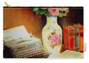My Classic Royal Typewriter Memories Of Hemingway   Carry-all Pouch