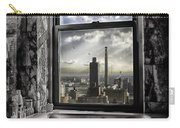 My Favorite Channel Is Manhattan View Carry-all Pouch by Madeline Ellis