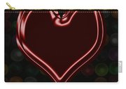 My Heart Is Yours Valentine Card Carry-all Pouch