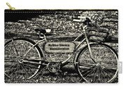 My Other Bike Is A Harley Davidson In Sepia Carry-all Pouch