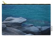 Mykonos Cliff Frog Greece Carry-all Pouch