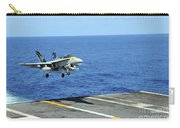 N Fa-18c Hornet Lands Aboard Carry-all Pouch