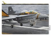 N Fa-18f Super Hornet Lands Aboard Carry-all Pouch