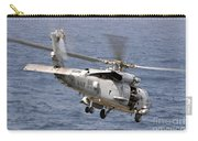 N Hh-60h Sea Hawk Helicopter In Flight Carry-all Pouch