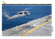 N Mh-60s Sea Hawk Helicopter Lifts Carry-all Pouch