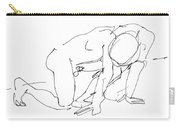 Naked-man-art-18 Carry-all Pouch