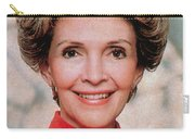 Nancy Reagan, 40th First Lady Carry-all Pouch by Photo Researchers