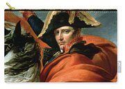 Napoleon Crossing The Alps On 20th May 1800 Carry-all Pouch